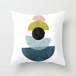 Scandinavian Mid Century Modern 25 Throw Pillow