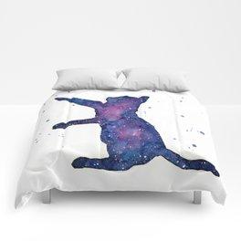 Galactic Cat Comforters