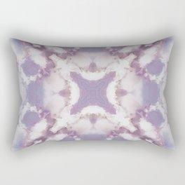 Lilac Abstract Rectangular Pillow