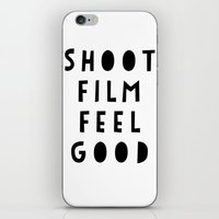 Shoot Film, Feel Good iPhone & iPod Skin