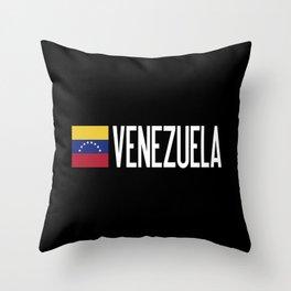 Venezuela: Venezuelan Flag & Venezuela Throw Pillow