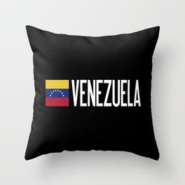 Venezuela: Venezuelan Flag & Venezuela Throw Pillow
