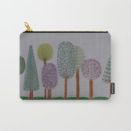 Forest Line Drawing Carry-All Pouch