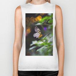 Butterflies + Twinkle Lights 1 Biker Tank