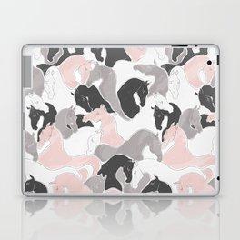 Playing Horses pattern Laptop & iPad Skin