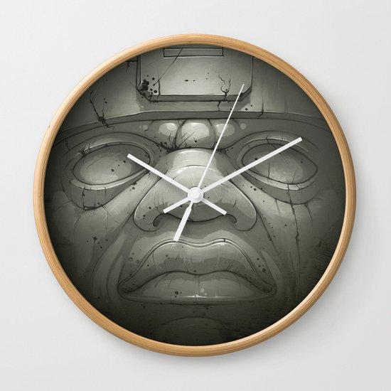 Olmeca I. Wall Clock