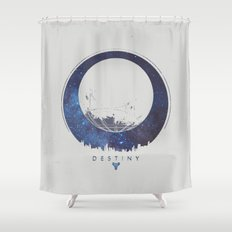 Destiny - Milkyway Shower Curtain