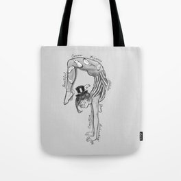 The Acrobat Tote Bag
