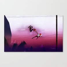 Ninja vs Pirate Canvas Print