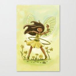 Goblins Drool, Fairies Rule - Hula Hoop  Canvas Print