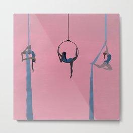 aerial dancing Metal Print