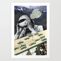 Sometimes It's One Big Headache Art Print