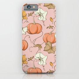 Pumpkin pie iPhone Case