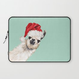 Christmas Sneaky Llama Laptop Sleeve