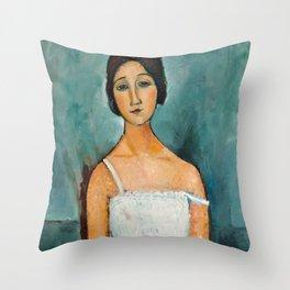 Amedeo Modigliani - Christina Throw Pillow