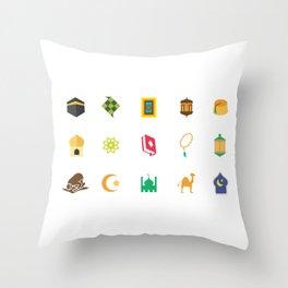 Eid Al Fitr Throw Pillow