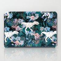 jurassic park iPad Cases featuring Jurassic by Bobo1325