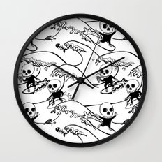 surferSkeleton Wall Clock