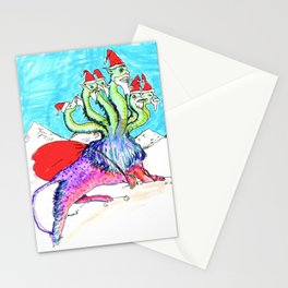 CHRISTMAS MONSTER Stationery Cards