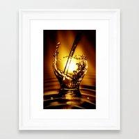 drink Framed Art Prints featuring Drink by Digital Dreams
