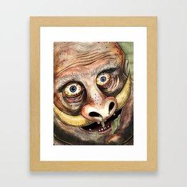 Idiot Playground Framed Art Print