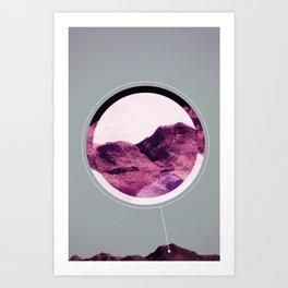 cràter Art Print