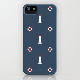 Nautical Pattern iPhone Case