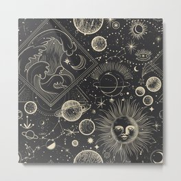 Magic patterns Metal Print