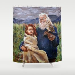 Familie Shower Curtain