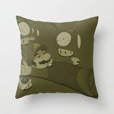 Tragic Ending-raw Throw Pillow