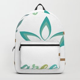 Go green- Respect for nature Backpack