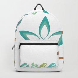 Go green- Respect for nature Backpack