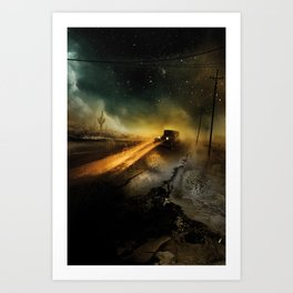 Desolation Road Art Print