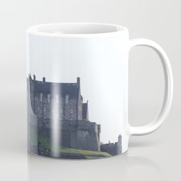 View of Edinburgh Castle from New Town Coffee Mug
