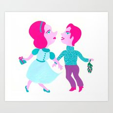 Cool Yule Art Print