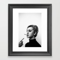 Cigarettes and the 60s Framed Art Print