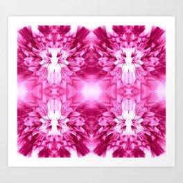 Dandelions Psycacerise Art Print