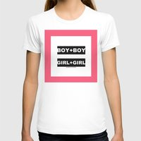 equality T-shirts featuring equality by bisualhart