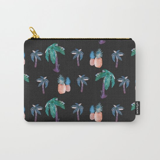 Tropical at Night Carry-All Pouch