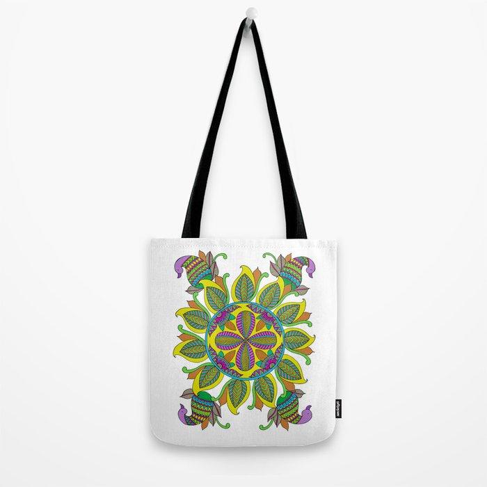 Geometric Shape Series - Circle Tote Bag