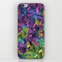 psychedelic iPhone & iPod Skins featuring Psychedelic by Dorothy Pinder