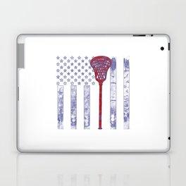 Lacrosse Flag Laptop & iPad Skin