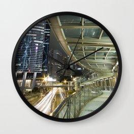 Hong Kong-Night View Wall Clock
