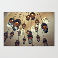 Hanging Moroccan Lamps Canvas Print