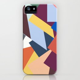 Abstract No 451 By Chad Paschke iPhone Case