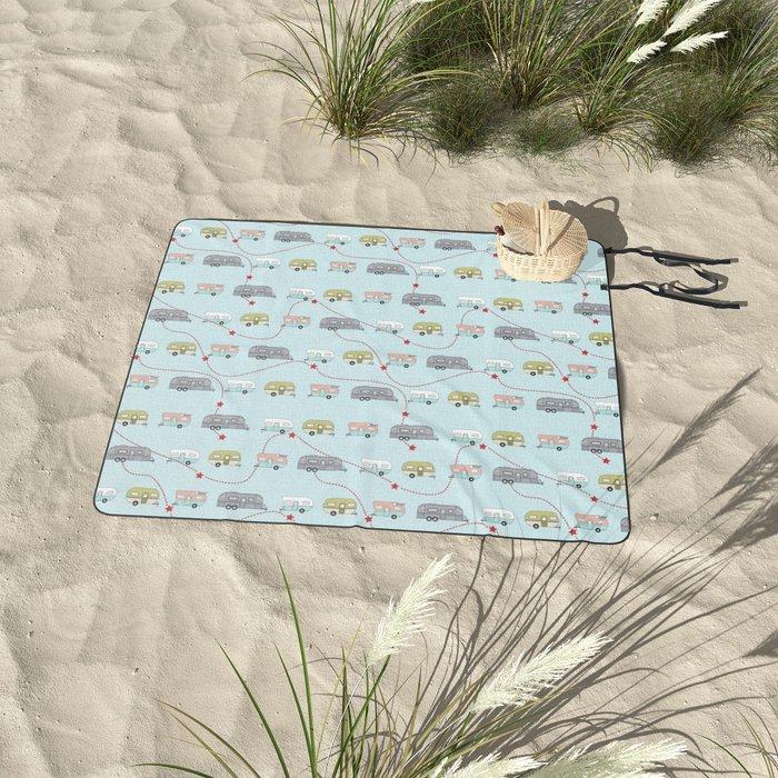 Get Your Kicks Picnic Blanket