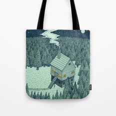 'The Middle Of Nowhere' Colour Tote Bag