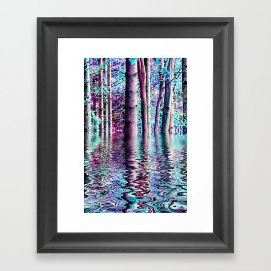PEACE TREE-TY Framed Art Print