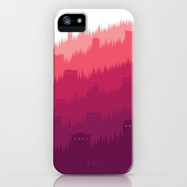 Sunlight Over the Hill No. 1 iPhone Case