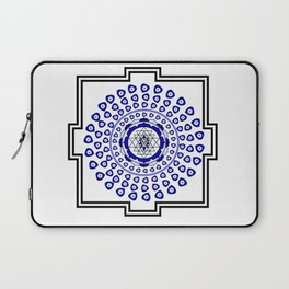 108 Evil Eye Sri Yantra Laptop Sleeve